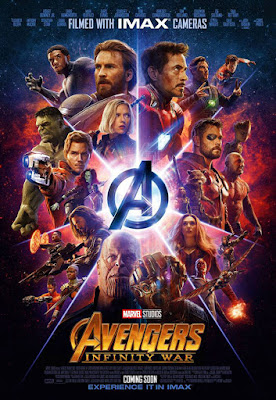 Póster de Vengadores. Infinity War