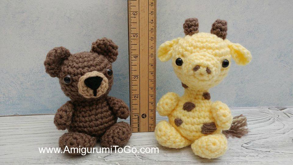 32 Free Crochet Giraffe Amigurumi Patterns ⋆ DIY Crafts | 540x960