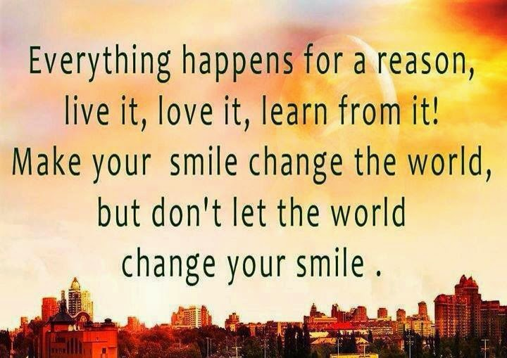Everything Happens For A Reason Love It Love It Learn From It