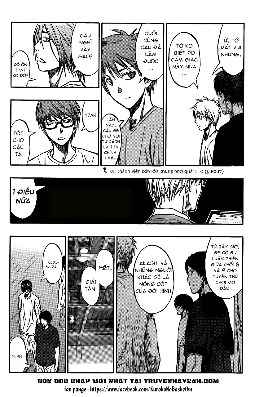 Kuroko No Basket chap 210 trang 10