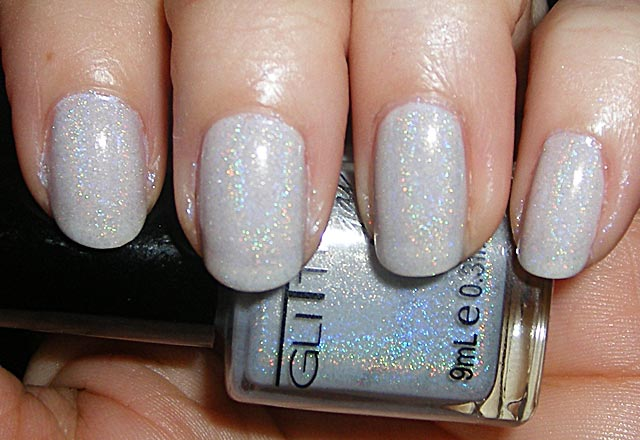 xoxoJen's swatch of Glitter Gal Light As a Feather