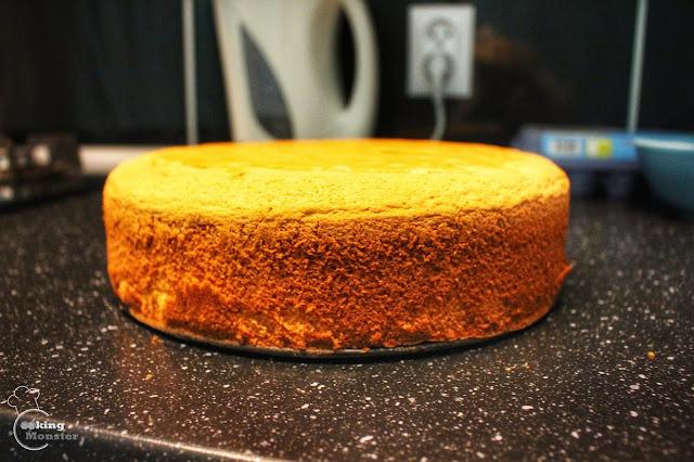 Biszkopt rzucany - idealny do tortów