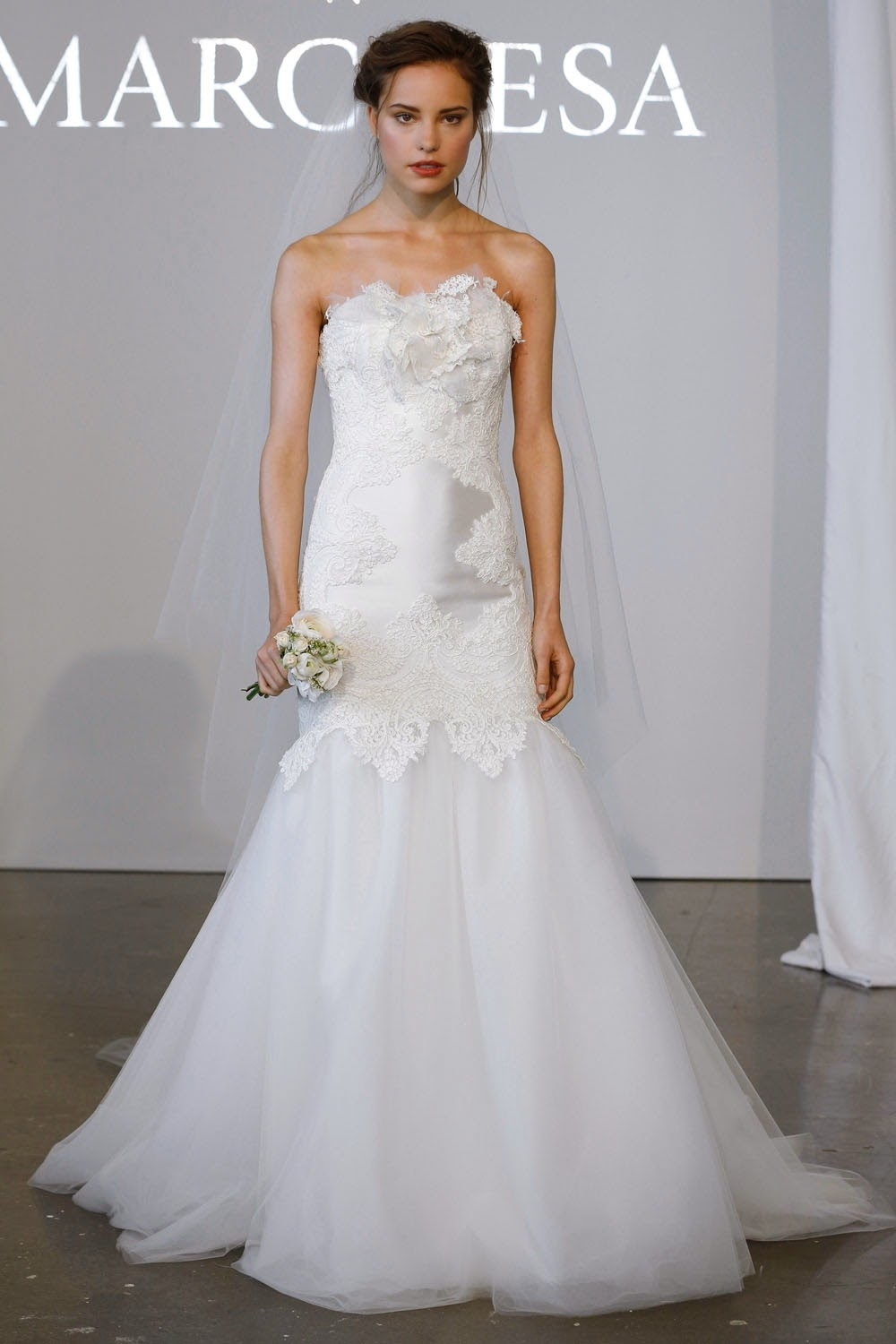 Marchesa Spring 2015 Wedding Dresses - Runway - World of ...