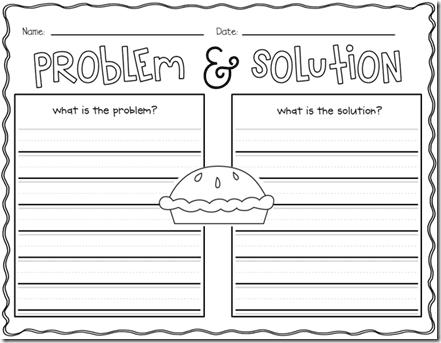 Problem solution paragraph structure