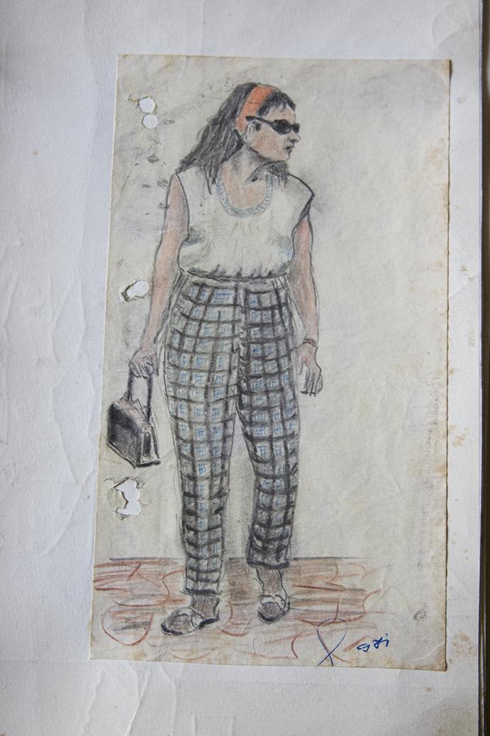 Grandpa sketches