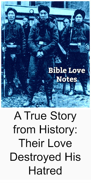 A true story of Christian love melting the heart of a man inspired by hatred