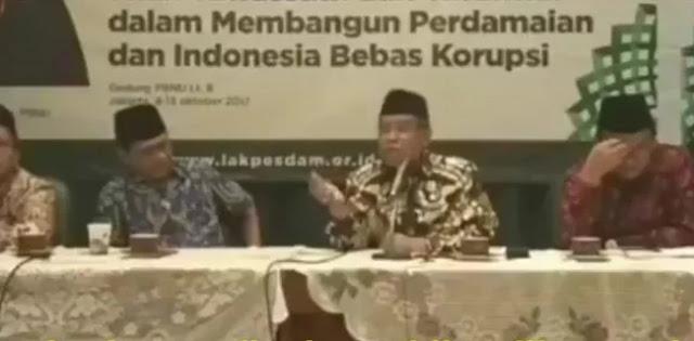 Viral Video Ketum PBNU Bolehkan Orang Islam Menghormati Dewa Tanaman