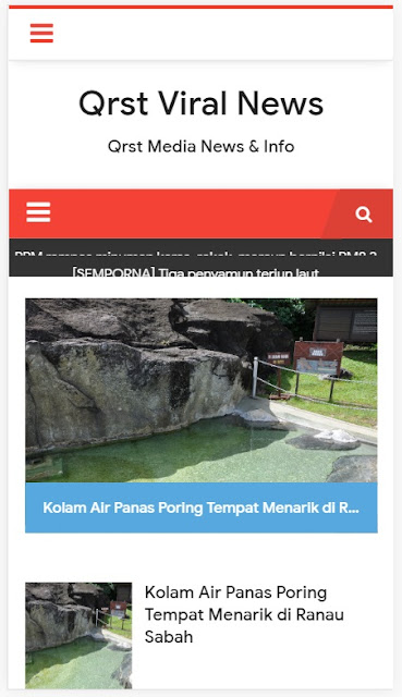 Cara membuat Featured Post  Di blogger