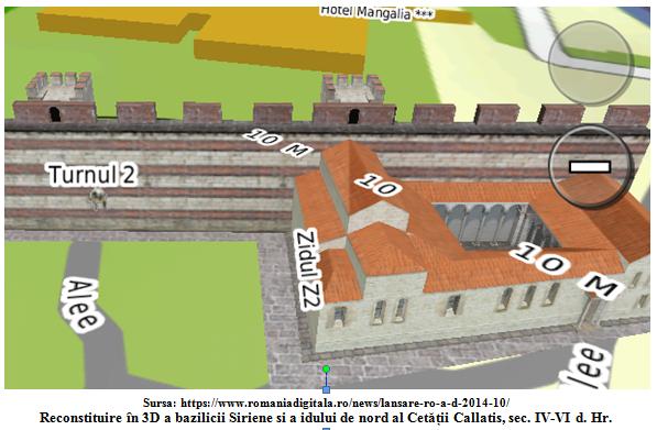 Reconstituire 3D Cetatea Callatis