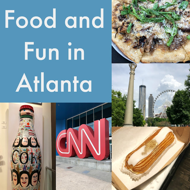 Spending a day or two in Atlanta?!? Check out the restaurants, bakeries and other attractions we experienced! My Day of Food and Fun in Atlanta, Georgia!