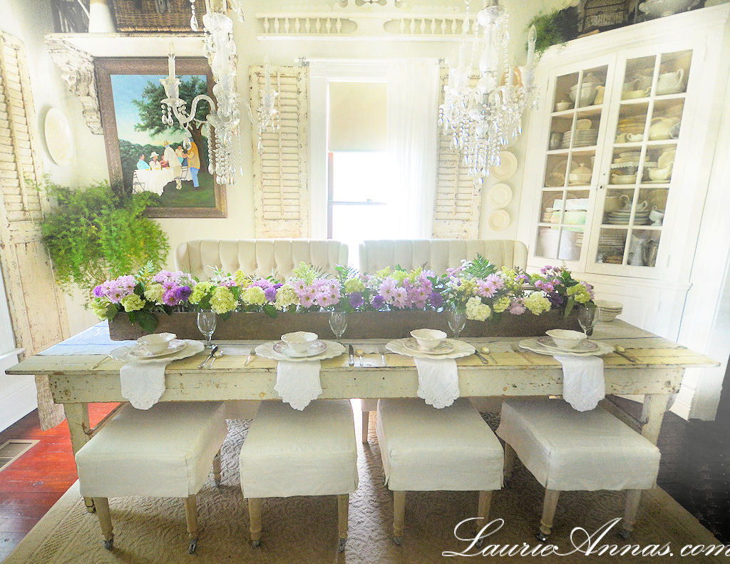 LaurieAnnas Vintage Home Our Farmhouse Dining Room