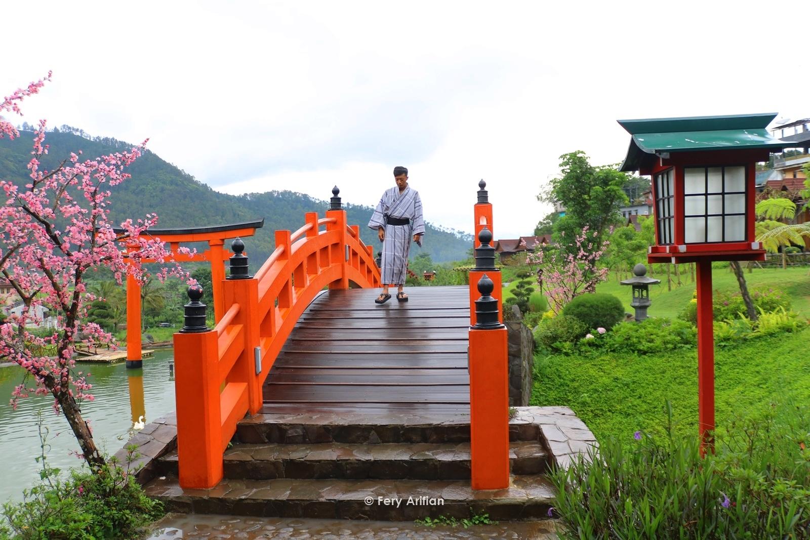 Sehari Menjadi Orang Jepang Di The Onsen Hot Spring Resort Batu Fery Arifian