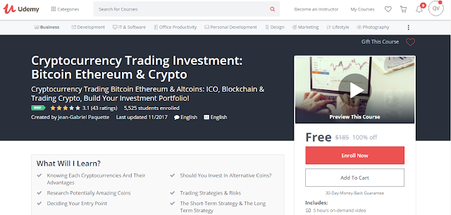 Cryptocurrency Trading Investment: Bitcoin Ethereum & Crypto