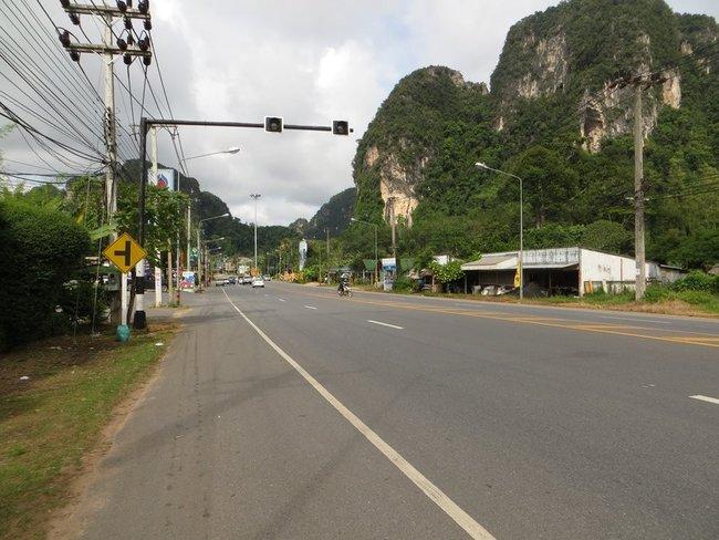 Дорога в сторону Ао нанга, Краби