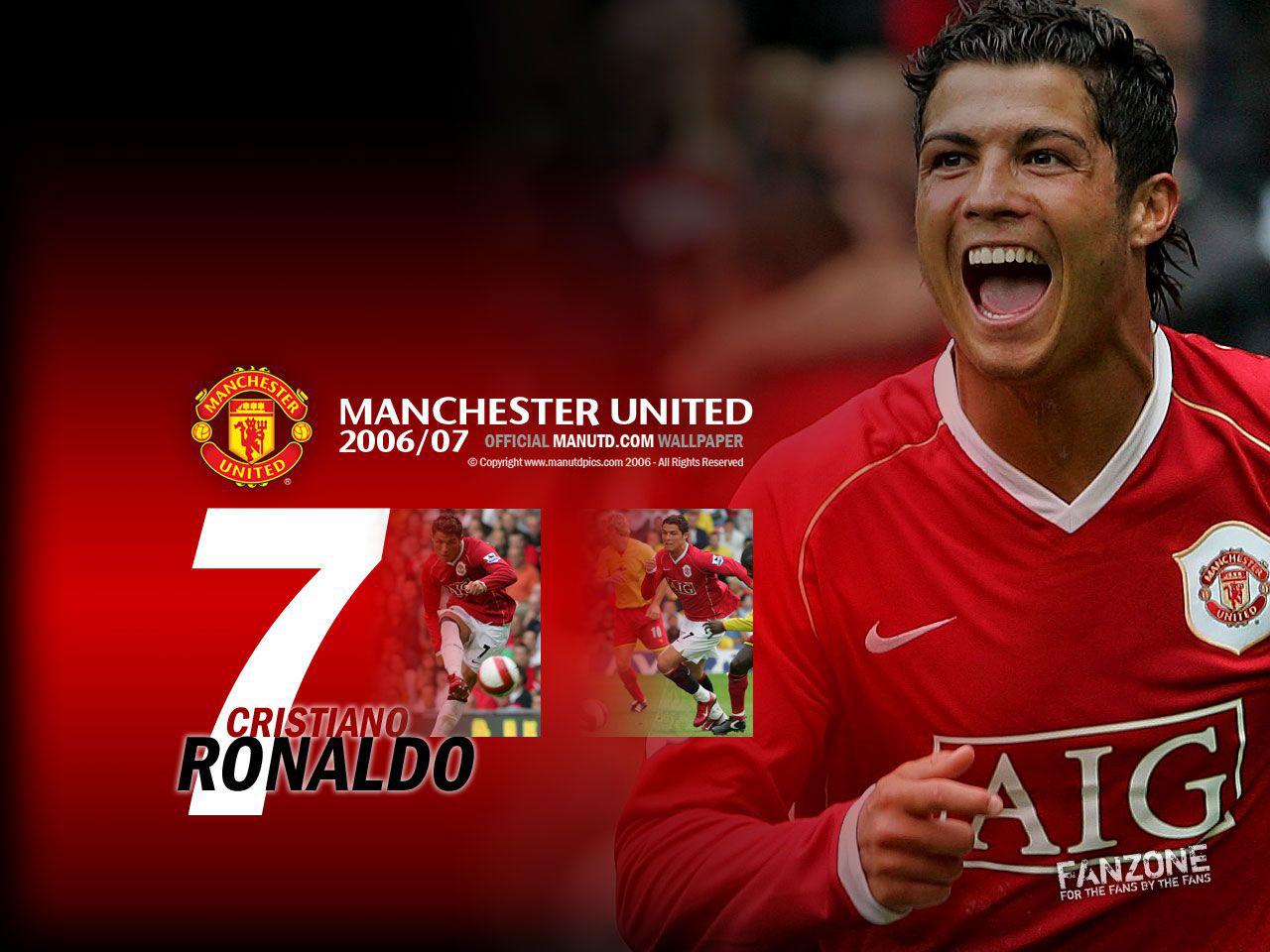 Cristiano Ronaldo Zone Cristiano Ronaldo Manchester United Wallpaper