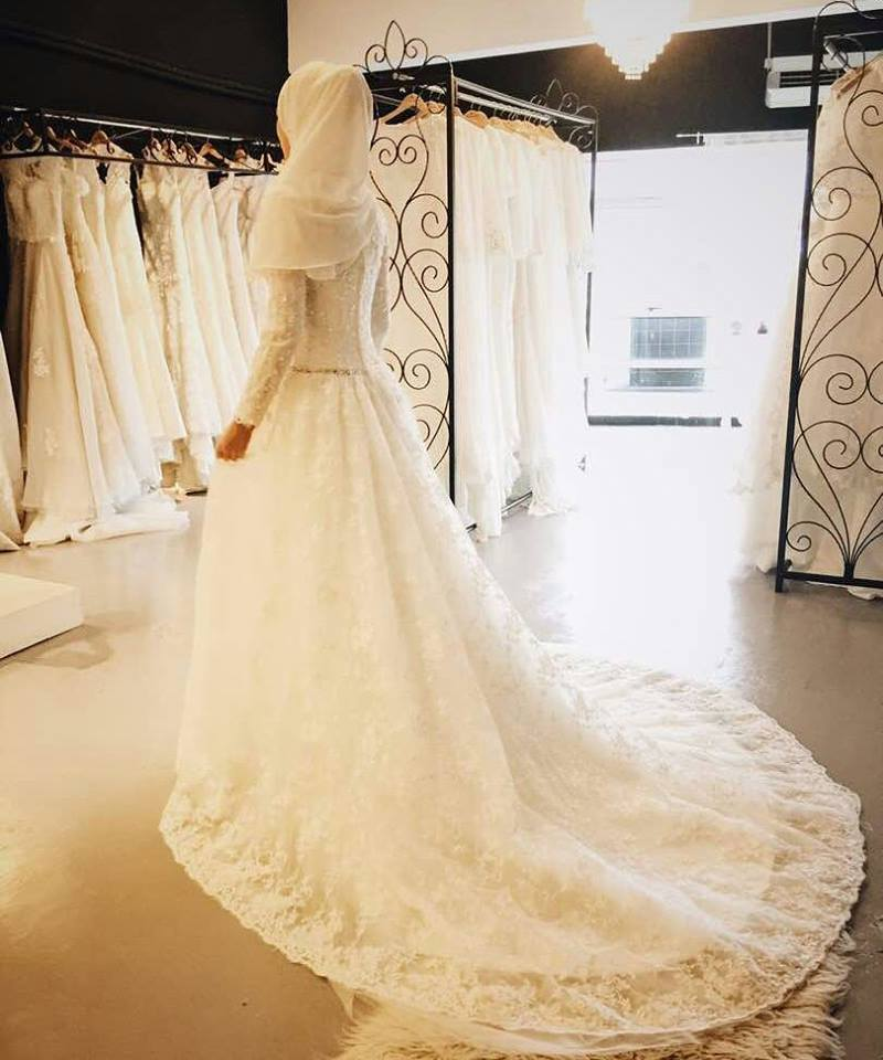 MY BRIDAL GOWN