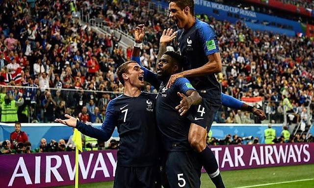 Mundial Rusia 2018: Francia pasa a final con gol de Umtiti