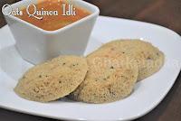 Oats Quinoa Idli