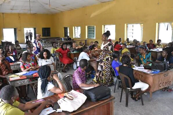 Training of Teachers In Early Childhood Care and Development in Education is on-going in the 3 Senatorial Zones of Abia State.