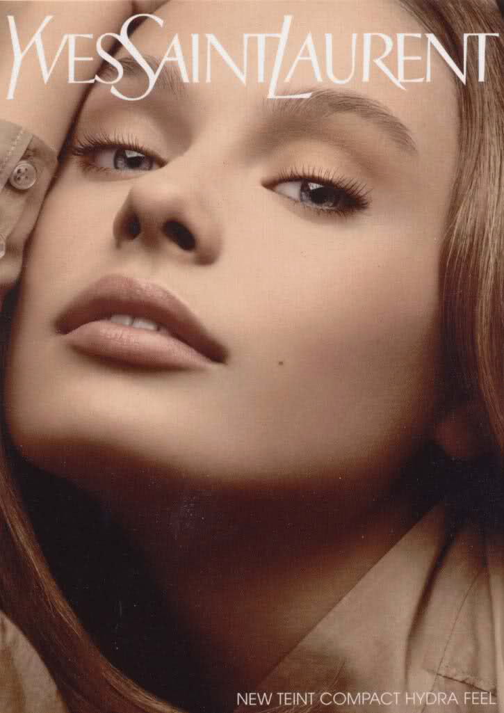 Inguna Butane for Yves Saint Laurent Beauty 2006 campaign / exclusive interview / via fashioned by love british fashion blog