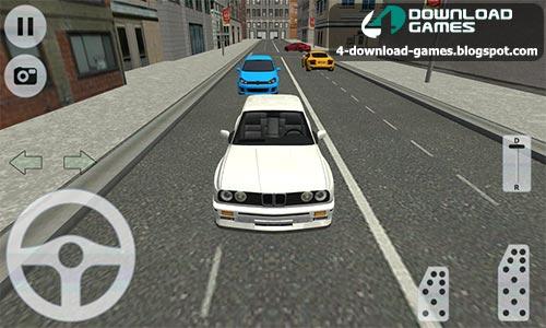لعبة القيادة والسرعة City Car Driving