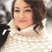 Bufanda Cuello a Crochet