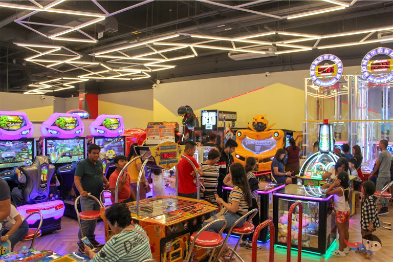 Arcade Games in Timezone, Circuit Mall