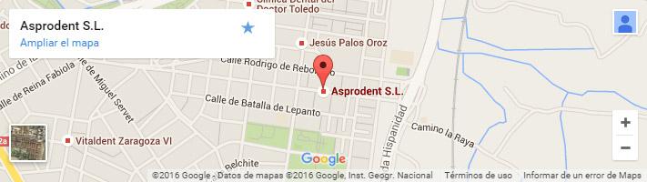 Localización Clínica Dental Asprodent