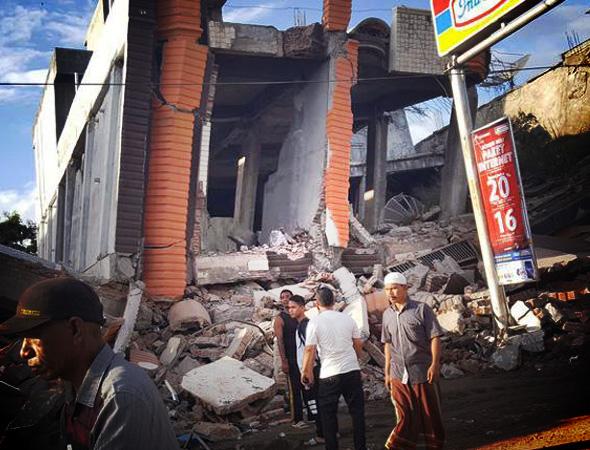 Gempa bumi tektonik aceh 6,5 SR 7 desember 2016