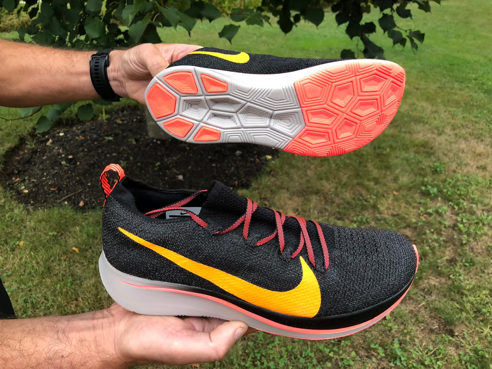 53b6d590ad0 Road Trail Run  Nike Zoom Fly Flyknit Initial Road Test Review  Zoom ...