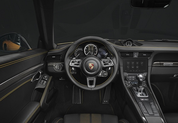 Interior Porsche 911 Turbo S Exclusive Series