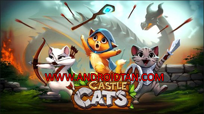Castle Cats Mod Apk v1.4.4 Unlimited Gold Gems Terbaru 2017