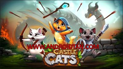 Castle Cats Mod Apk v2.5.22 Unlimited Gold Gems Terbaru