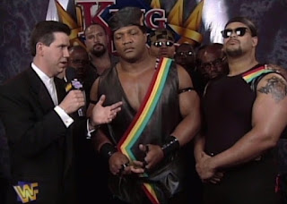 WWE / WWF - King of the Ring 1997 - Todd Pettengill interviews Farooq