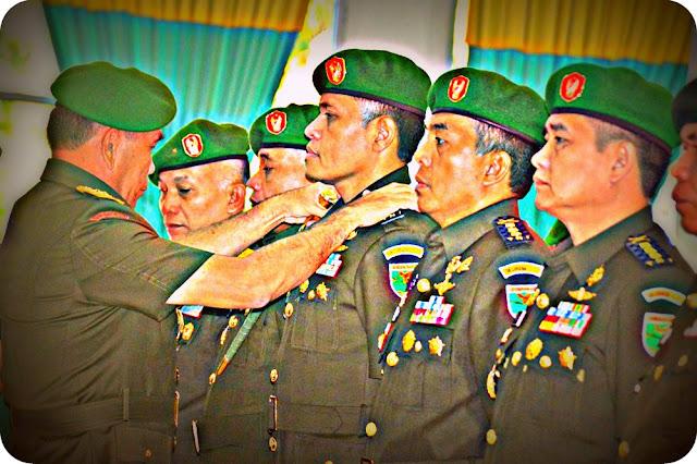 Pangdam Cenderawasih Pimpin Korps Penerimaan 10 Perwira Baru