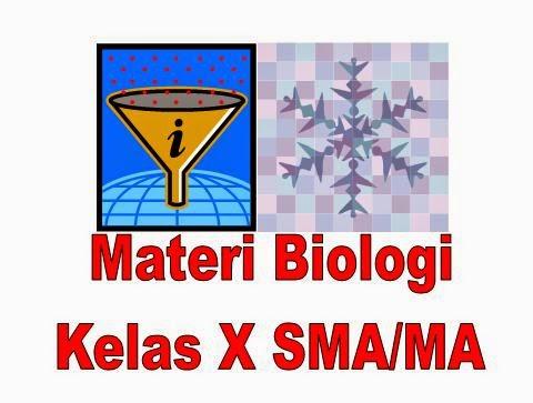 Materi Biologi Kelas X SMA Lengkap Semester 1 dan Semester 2