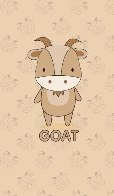 Simple cute goat theme(jp)