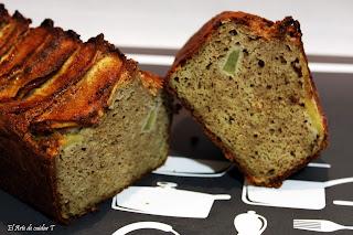 Pan sin gluten especiado  de trigo sarraceno y manzana