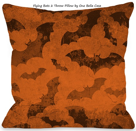 flying bats 2 throw pillow by one bella casa - Images Of Bats 2