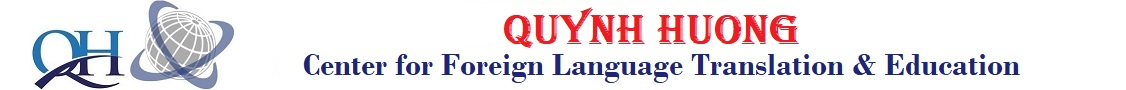 Quynh Huong Center for Foreign Language Translation & Education
