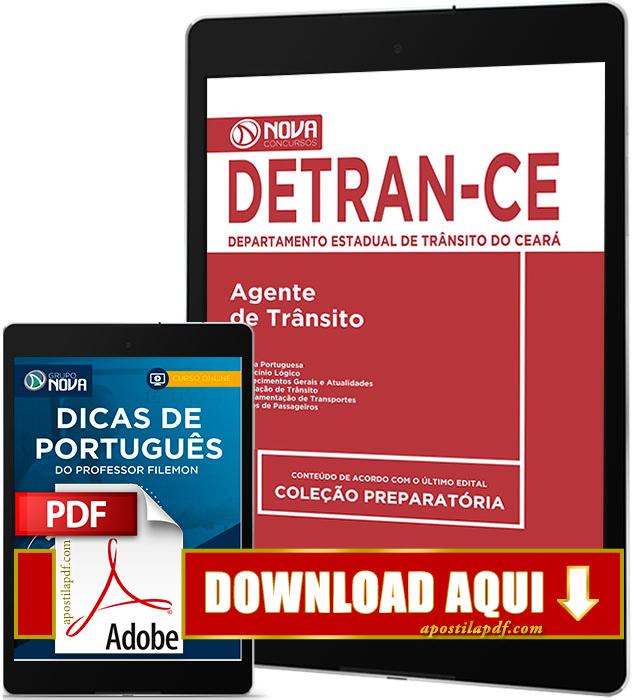 Apostila DETRAN CE 2017 PDF Download Agente de Trânsito