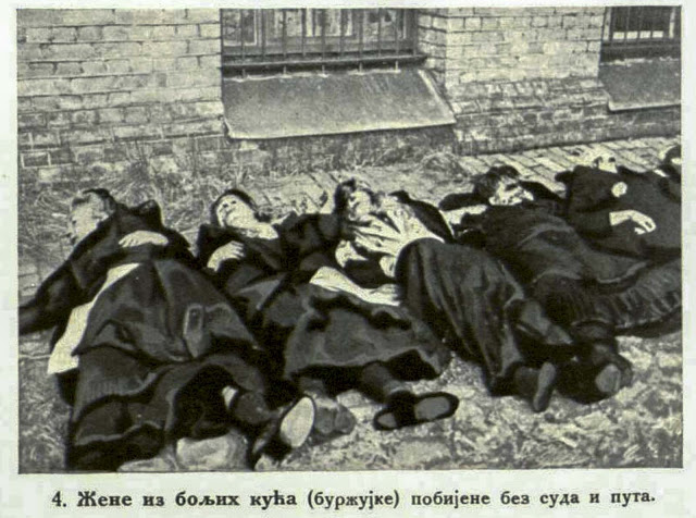 """Women of high Society (""""Burzujke"""") murdered without trial  and without any  cause"""