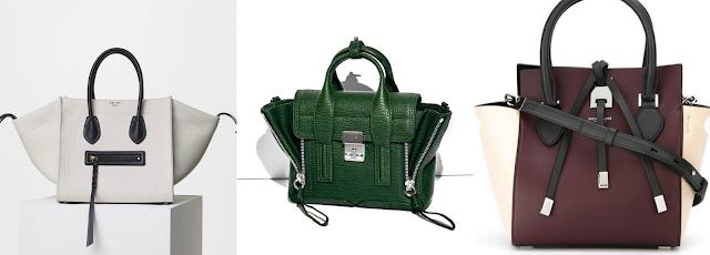 diferentes tipos de bolsos trapezoid