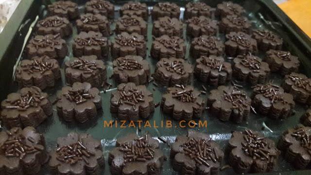 Resepi Biskut Coklat Rise Sukatan Cawan, resepi kuih raya sukatan cawan, biskut raya kegemaran kanak-kanak, biskut raya coklate, resepi biskut semperit, resepi biskut mazola, resepi biskut 3 bahan