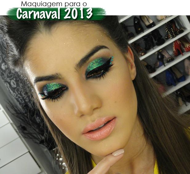 Maquiagem para usar com vestido verde esmeralda