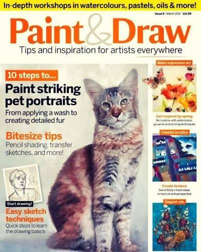Paint & Draw Magazine March 2017
