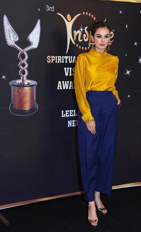 Evelyn Sharma Graces Spiritual and Wellness Visionary Awards 2017 Stills