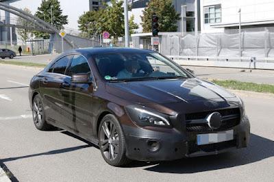 Mercedes CLA Facelift spyshot Hd Images