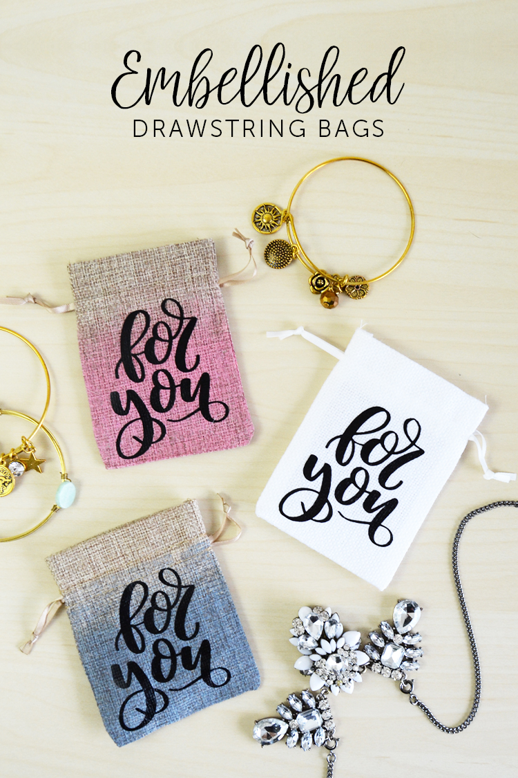 gift bag and jewelry