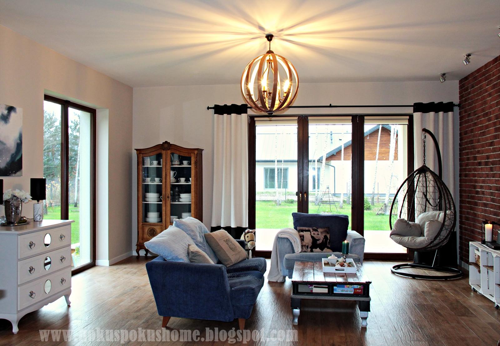 orb chandelier livingroom